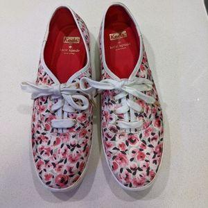 Kate Spade x Keds super cute, preppy canvas shoes